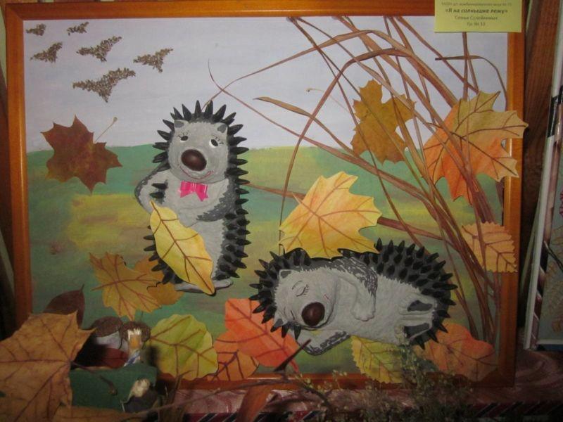 Поделки из природного материала на тему осень в школу и для детского сада. 66 интересных и оригинальных идей этап 25