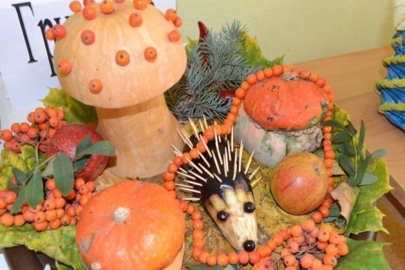Поделки из овощей и фруктов своими руками для выставки. Самые красивые осенние поделки в детский сад и в школу этап 1