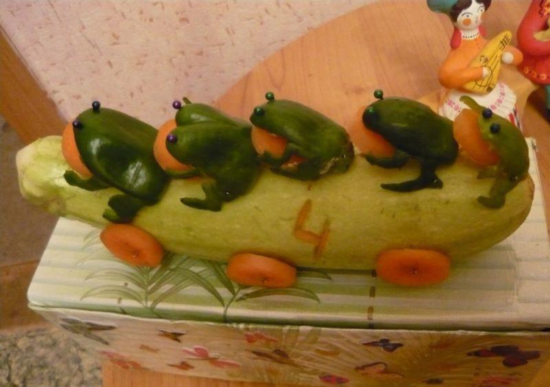 Поделки из овощей и фруктов своими руками для выставки. Самые красивые осенние поделки в детский сад и в школу этап 5