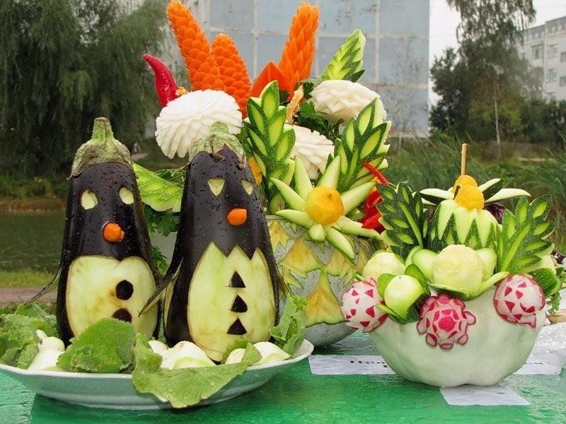 Поделки из овощей и фруктов своими руками для выставки. Самые красивые осенние поделки в детский сад и в школу этап 6
