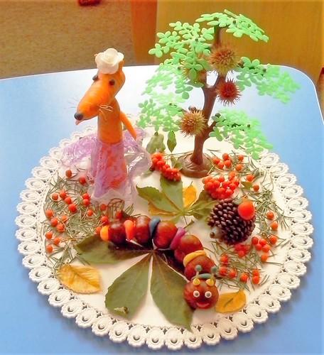 Поделки из природного материала на тему осень в школу и для детского сада. 66 интересных и оригинальных идей этап 78