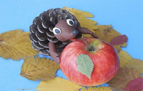 Поделки из природного материала на тему осень в школу и для детского сада. 66 интересных и оригинальных идей этап 81