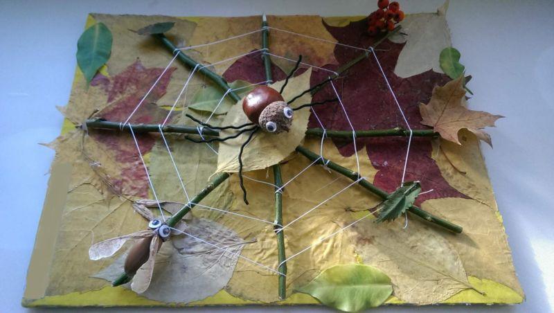 Поделки из природного материала на тему осень в школу и для детского сада. 66 интересных и оригинальных идей этап 1