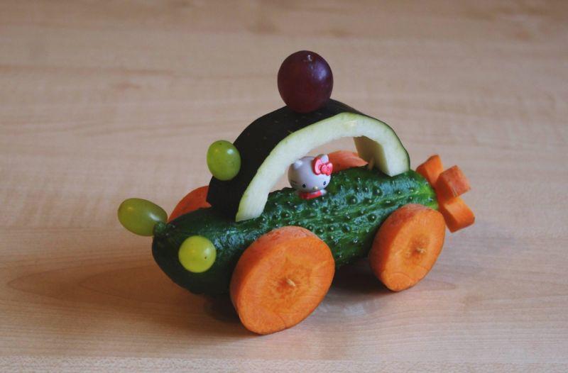 Поделки из овощей и фруктов своими руками для выставки. Самые красивые осенние поделки в детский сад и в школу этап 51