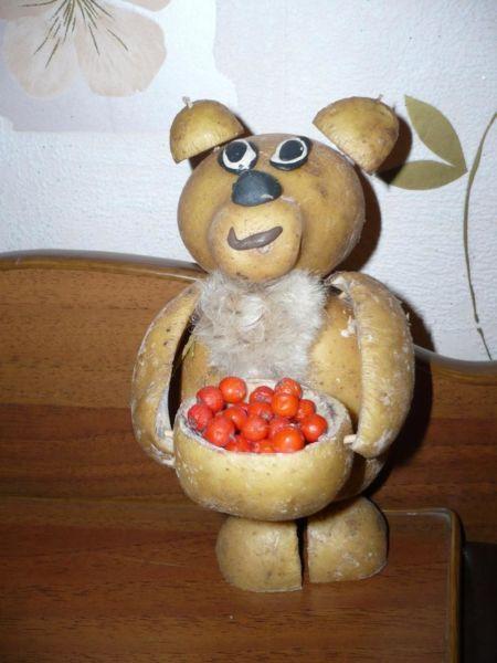 Поделки из овощей и фруктов своими руками для выставки. Самые красивые осенние поделки в детский сад и в школу этап 55
