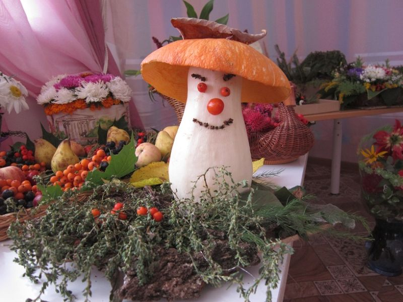 Поделки из овощей и фруктов своими руками для выставки. Самые красивые осенние поделки в детский сад и в школу этап 21