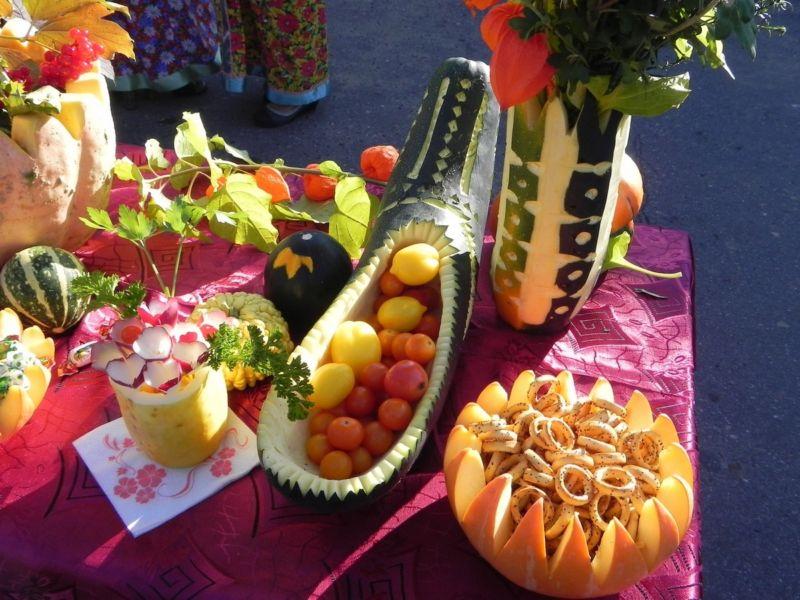 Поделки из овощей и фруктов своими руками для выставки. Самые красивые осенние поделки в детский сад и в школу этап 23