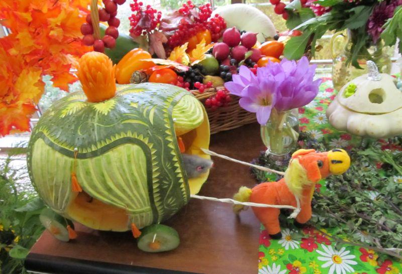 Поделки из овощей и фруктов своими руками для выставки. Самые красивые осенние поделки в детский сад и в школу этап 12