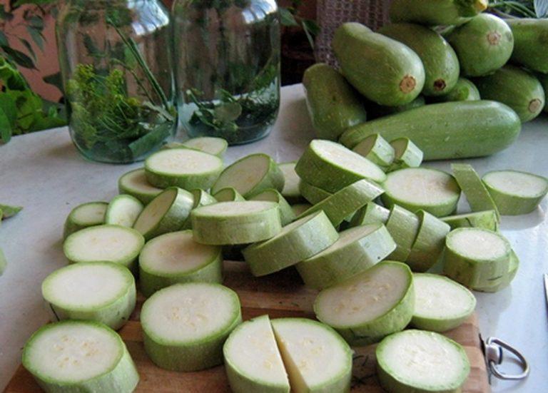 Вкусные кабачки на зиму — 13 лучших рецептов заготовки кабачков этап 49