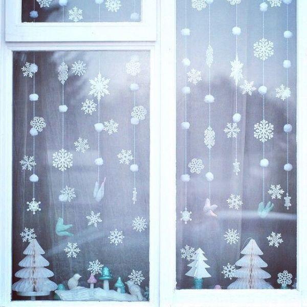 Снежинки из бумаги: шаблоны для вырезания + схемы. Скачивай и распечатывай! этап 75
