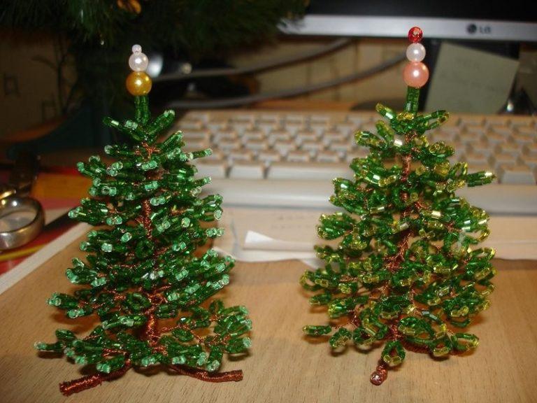 Из чего можно сделать поделку елку