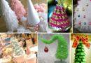 Елка своими руками на Новый год — фото идеи и мастер-классы