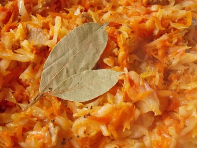 Капуста тушеная — 10 рецептов очень вкусной тушеной капусты этап 55