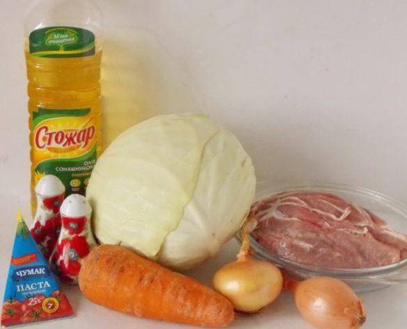 Капуста тушеная — 10 рецептов очень вкусной тушеной капусты этап 48