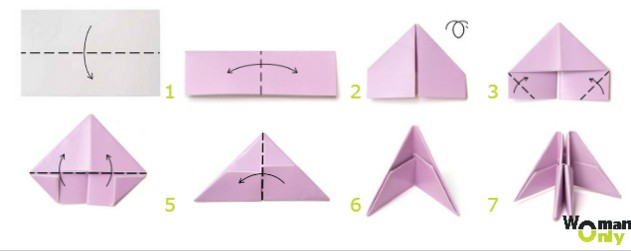 Снежинки из бумаги: шаблоны для вырезания + схемы. Скачивай и распечатывай! этап 30