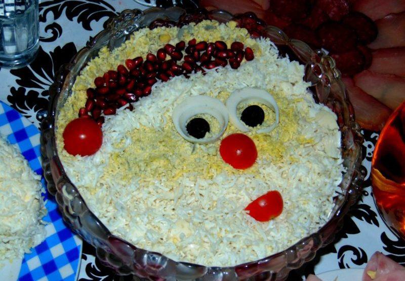 Салаты на Новый год 2021. Простые и вкусные рецепты новогодних салатов этап 1