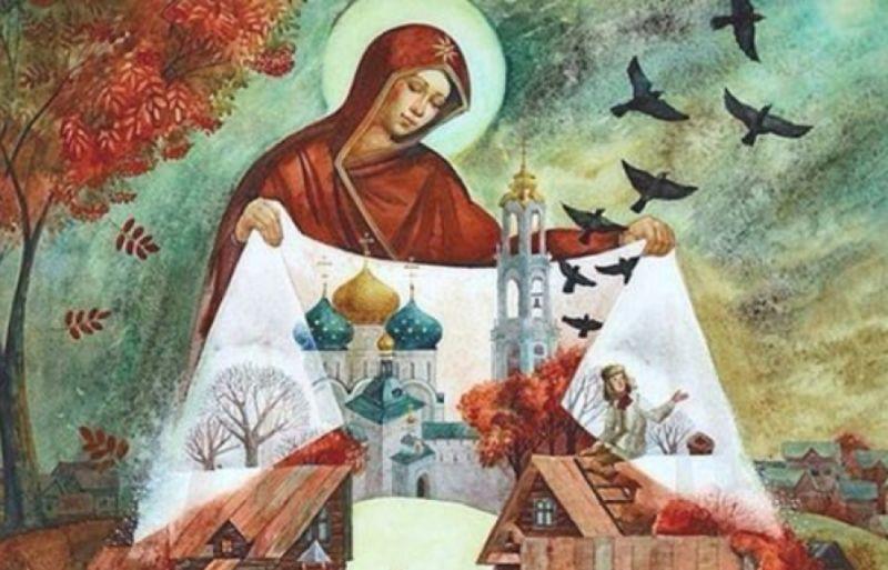 Изображение - Поздравление с покровом в открытках pokrov-den-8