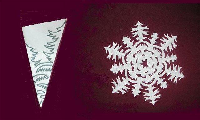 Снежинки из бумаги: шаблоны для вырезания + схемы. Скачивай и распечатывай! этап 65