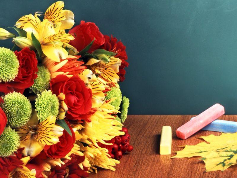 С Днем Учителя! Поздравления, картинки и открытки со стихами этап 7