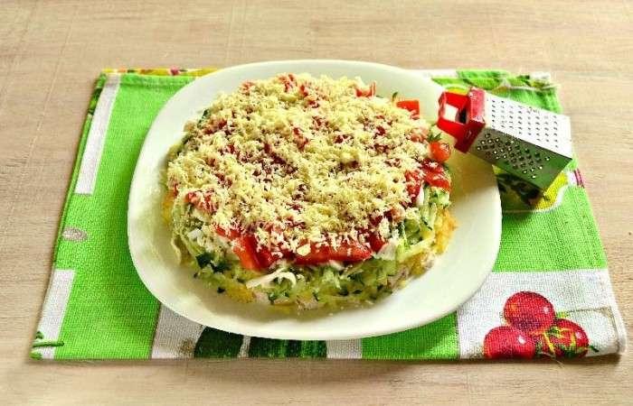 Салаты на Новый год 2021. Простые и вкусные рецепты новогодних салатов этап 40