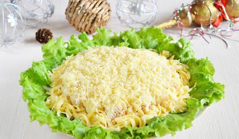 Салаты на Новый год 2021. Простые и вкусные рецепты новогодних салатов этап 8