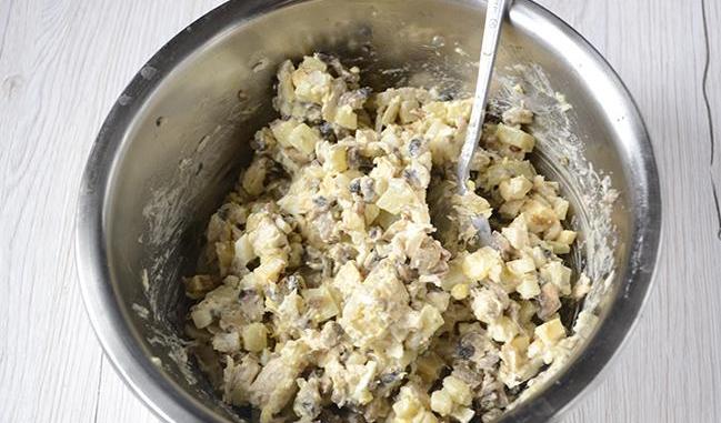 Салаты на Новый год 2021. Простые и вкусные рецепты новогодних салатов этап 50