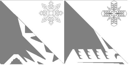 Снежинки из бумаги: шаблоны для вырезания + схемы. Скачивай и распечатывай! этап 57