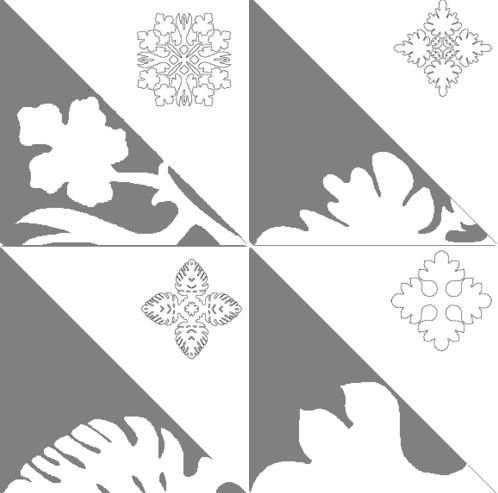 Снежинки из бумаги: шаблоны для вырезания + схемы. Скачивай и распечатывай! этап 58