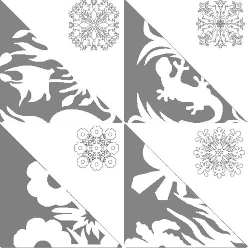 Снежинки из бумаги: шаблоны для вырезания + схемы. Скачивай и распечатывай! этап 59