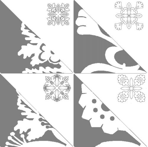 Снежинки из бумаги: шаблоны для вырезания + схемы. Скачивай и распечатывай! этап 60
