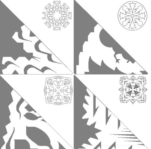 Снежинки из бумаги: шаблоны для вырезания + схемы. Скачивай и распечатывай! этап 62