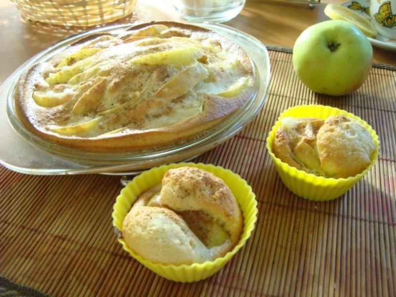 Пышная шарлотка с яблоками — 6 рецептов приготовления шарлотки в духовке этап 37