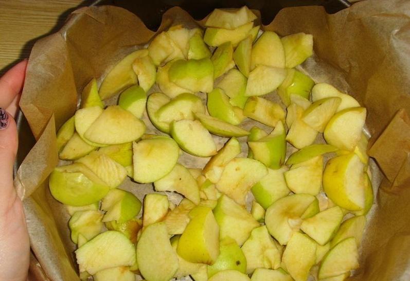 Пышная шарлотка с яблоками — 6 рецептов приготовления шарлотки в духовке этап 28
