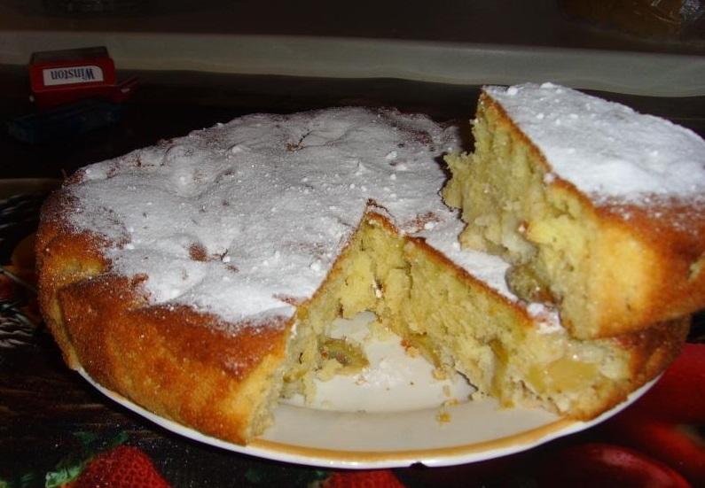 Пышная шарлотка с яблоками — 6 рецептов приготовления шарлотки в духовке этап 33