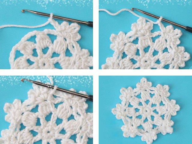 Снежинки своими руками на Новый год 2020. Поэтапные и пошаговые инструкции по изготовлению снежинок этап 48