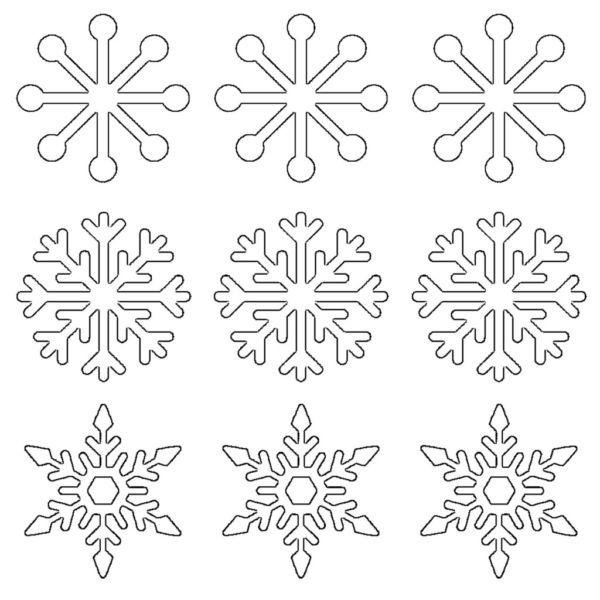 Снежинки из бумаги: шаблоны для вырезания + схемы. Скачивай и распечатывай! этап 47