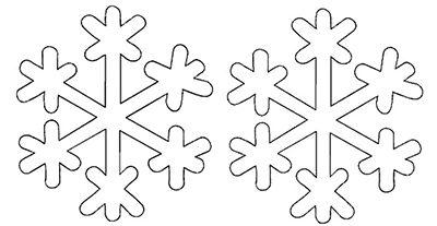 Снежинки из бумаги: шаблоны для вырезания + схемы. Скачивай и распечатывай! этап 49