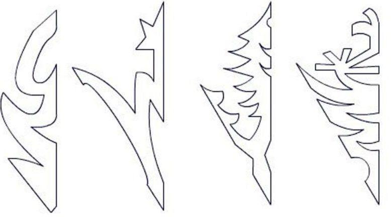 Снежинки из бумаги: шаблоны для вырезания + схемы. Скачивай и распечатывай! этап 24