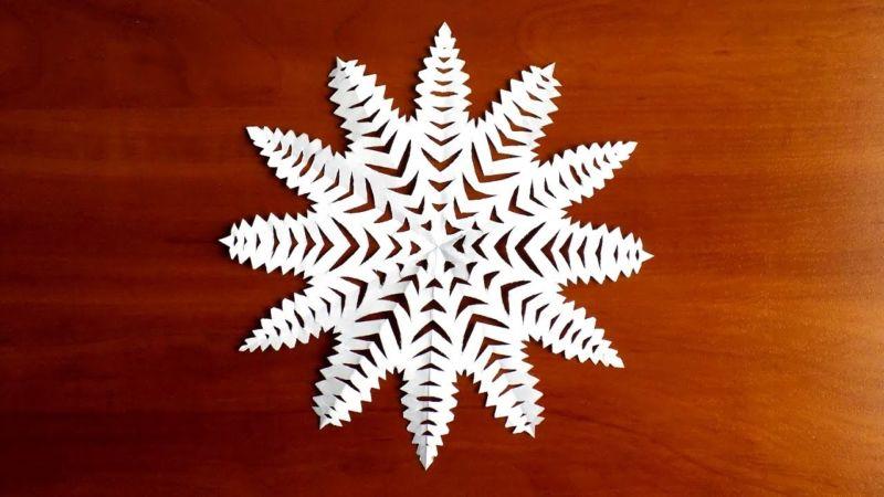 Снежинка поделка на конкурс