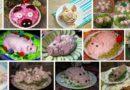 Салаты в виде Свиньи на Новый год 2019 — 5 новых и интересных рецептов