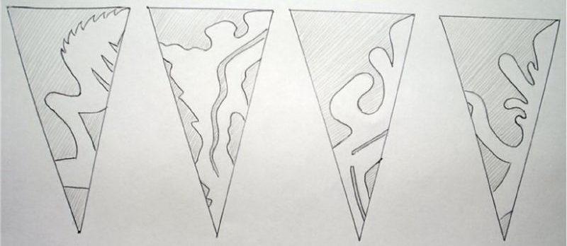 Снежинки из бумаги: шаблоны для вырезания + схемы. Скачивай и распечатывай! этап 8