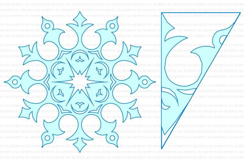 Снежинки своими руками на Новый год 2020. Поэтапные и пошаговые инструкции по изготовлению снежинок этап 88