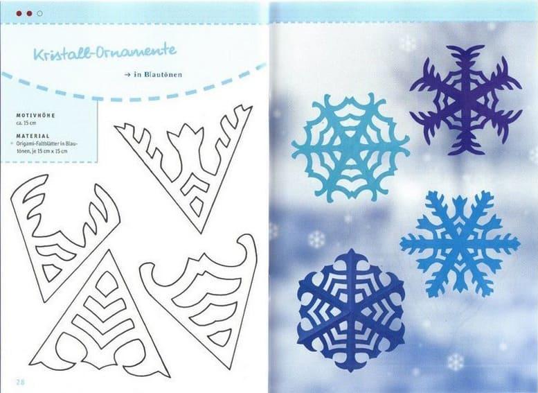Снежинки своими руками на Новый год 2020. Поэтапные и пошаговые инструкции по изготовлению снежинок этап 94