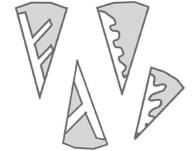 Снежинки из бумаги: шаблоны для вырезания + схемы. Скачивай и распечатывай! этап 15