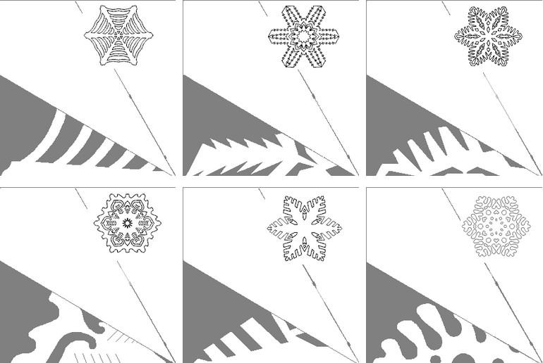 Снежинки своими руками на Новый год 2020. Поэтапные и пошаговые инструкции по изготовлению снежинок этап 96