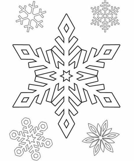 Украшения на окна из бумаги к Новому году 2021. Трафареты и шаблоны новогодних украшений этап 47