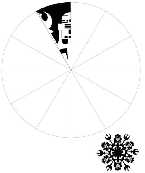 Снежинки из бумаги: шаблоны для вырезания + схемы. Скачивай и распечатывай! этап 36