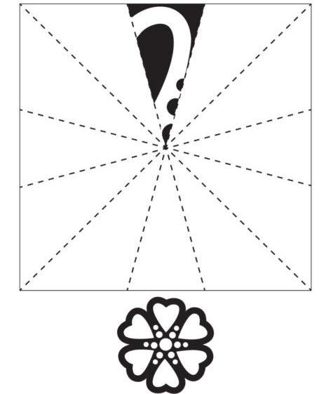 Снежинки из бумаги: шаблоны для вырезания + схемы. Скачивай и распечатывай! этап 37