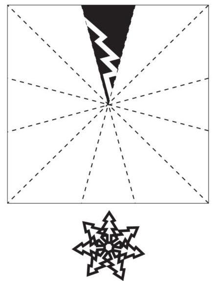 Снежинки из бумаги: шаблоны для вырезания + схемы. Скачивай и распечатывай! этап 38