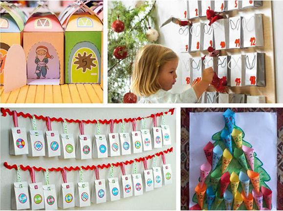 Адвент-календарь для детей к Новому году своими руками с шаблонами и заданиями, которые можно распечатать этап 74